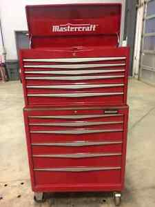 Mastercraft toolbox for sale top and bottom