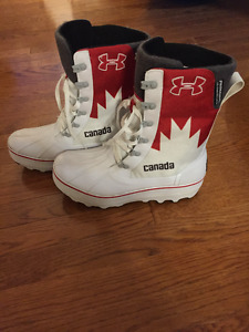 2014 Mens UNDER ARMOUR CANADA OLYMPIC OPENING CEREMONY BOOTS