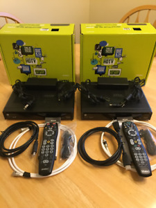 Shaw Motorola DCX3200/A280/013 HD Cable Boxes + Accessories