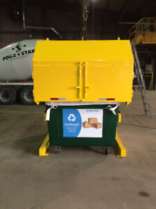 Powerful Hydraulic  Compactor, Cardboard and more.