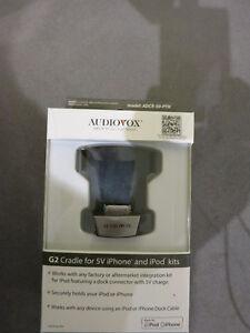Dock pour auto pour Apple 30-pin Audiovox G2 DCR-50