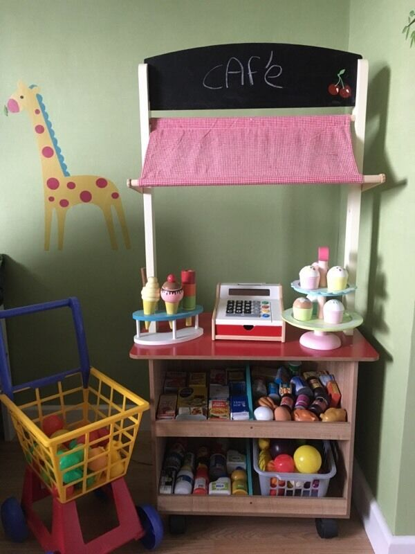 Just Like Home Toy Restaurant Menu : Toy cafe shop kitchen role play in kingswood