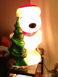 Snoopy Peanuts Outdoor Christmas Decoration