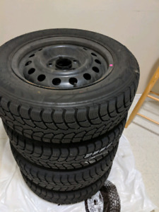New 4 WINTER tires with New rims 195/65/R15
