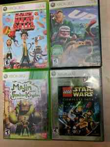 Xbox 360 games & Kinect games