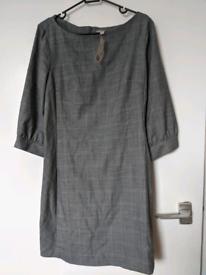 H&M grey dress UK size 12, never worn