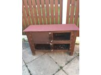 Guinea pig hutch cage