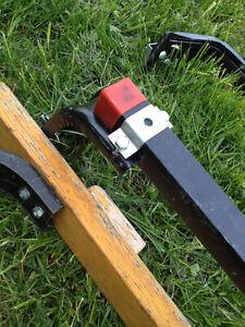 3 Pairs of Industrial Van Roof / Ladder Racks SEE VIDEO