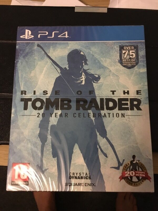 PS4 tomb raider 20 years celebration