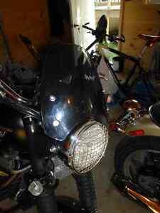 Triumph srambler parts light cover