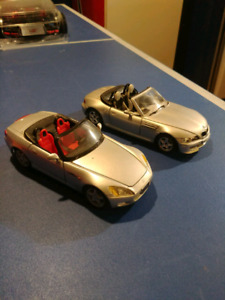 1:24 scale diecast models!!