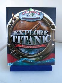 Explore Titanic Book & CD