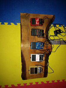 Boss pedals
