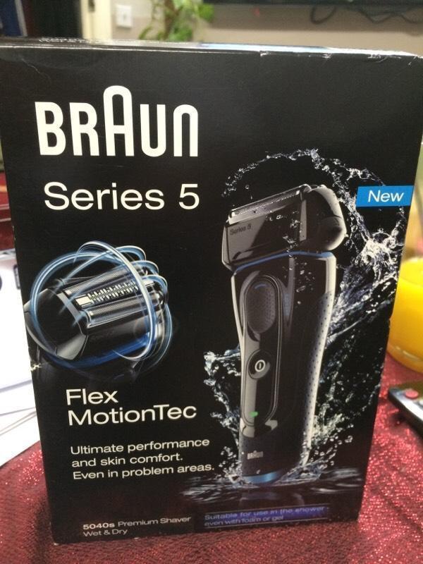 braun machine