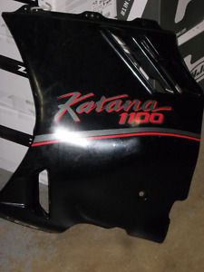 1989-1992 suzuki gsxf-1100 katana lower fairings