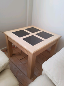 Wooden table side table