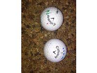12 great quality callaway golf balls