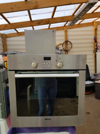 Bosch single electric oven built in 60cm