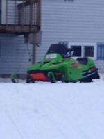 LOOKING FOR A ARCTIC CAT 500 OR 600 MOTOR OR SMASHED SLED