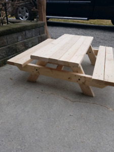 Kids PicnicTables and Muskoka chairs