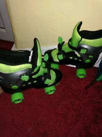 Adjustable roller skate offers considered