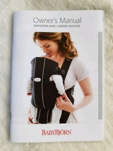 Baby Bjorn baby carrier original - dark grey