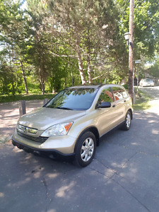 2007 Honda CRV EX Awd with low km in mint condition
