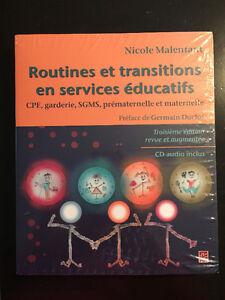 Routines et transitions en services educatifs
