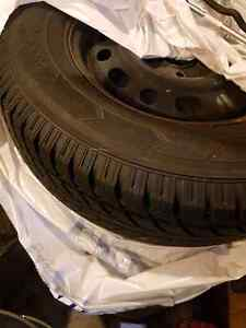 Winter tires with rims 235/70/R16