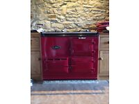 Electric aims 2 oven red aga