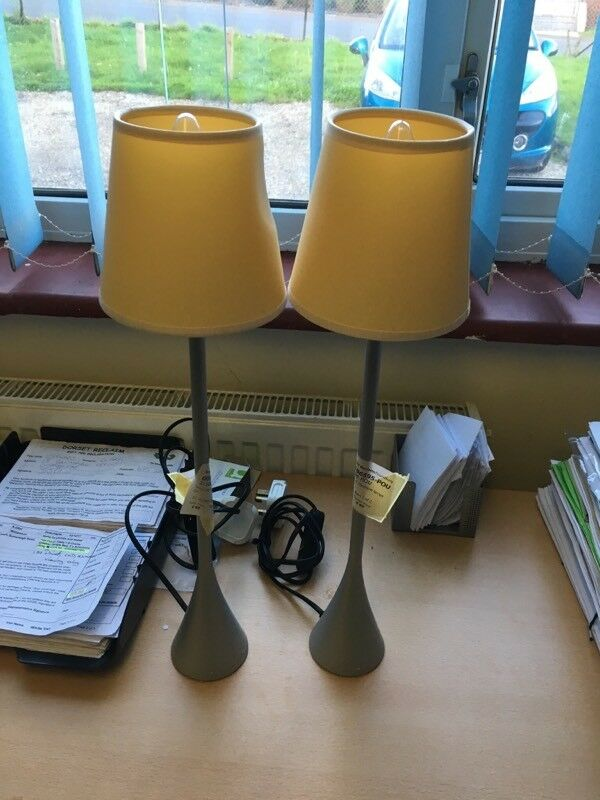 Pair of Mourgue bedside Lamps
