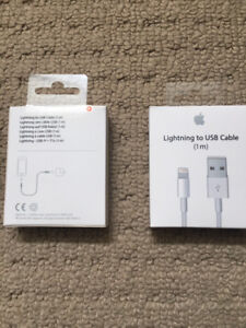 Lightning USB 1 meter Apple Cable
