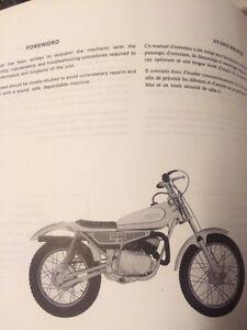 1975 Yamaha TY80B Service Manual Regina Regina Area image 2