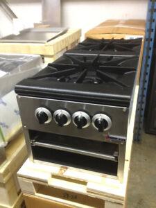 Stock pot ranges, Stoves, Grills, Griddles, Chinese wok ranges