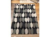 Grey Pebble 6 X 4 Rug