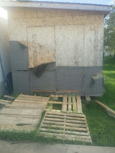12X18 ft. shed most sell quickly.