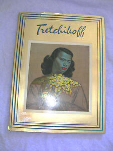 RARE 1969 TRETCHIKOFF ART FOLIO GOLD BOOK BY HOWARD TIMMINS