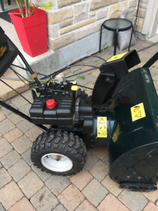 Like New Condition 10.5 HP Snowblower