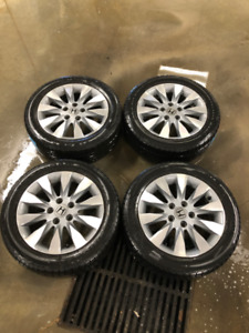 "16"" Honda Civic Rims with Firestone All Season Tires"
