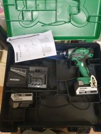 Hitachi 18v impact wrench brand new and torch
