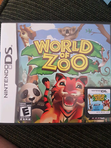 Nintendo ds game World of zoo