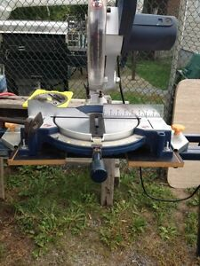 10 in miter saw with stand