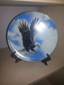 Wings of glory collector plate