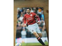 Signed Ryan Giggs picture