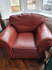 FREE TO COLLECTER Leather Armchair