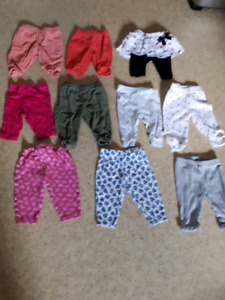 0-3 month baby girl clothes $10
