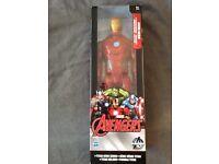 "Iron man titan hero series 12"" figure"
