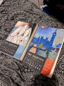 Norton Anthology Books - 9th Edition