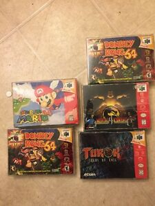 N64 games for trade for NES games