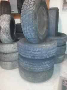 Used Snow tires, Also new snow tires various sizes